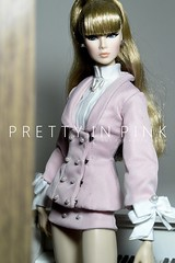 PRETTY IN PINK by m u n l e (Hoang Anh Khoi) Tags: fashionroyalty nuface up all night lilith tweed couture dania erin she owns everything