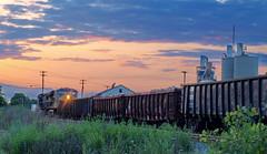 Scrap Metal Train (nelhiebelv) Tags: lansing michigan scrap metal