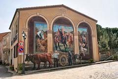 Murales - Cossoine (Franco Serreli) Tags: murales muri muro centrostorico centristorici artemuraria streetart sardegna sardinia muralesdisardegna cossoine pitturamuraria pitturemurarie