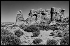 Arches National Park (Scott Sanford Photography) Tags: 6d archesnationalpark camping canon ef2470f28l eos expedition landscape naturalbeauty naturallight nature outdoor overland summer sunlight topazlabs utah desert roadtrip travel trip vacation blackandwhite bw monochrome