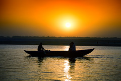 "Riding A Boat On The Ganges At Dawn, Varanasi (El-Branden Brazil) Tags: varanasi india indian ganges ganga ceremony hindu hinduism asian asia sacred holy mystical ""south asia"" sadhu"