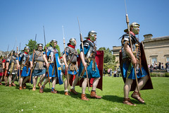 2016-06-05 - 20160605-018A8185 (snickleway) Tags: roman yorkshire museumgardens yorkromanfestival canonef1740mmf4lusm historicalreenactment park soldier york england unitedkingdom gb