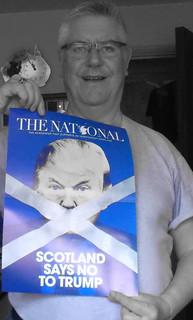 #ScotlandSaysNoToTrump