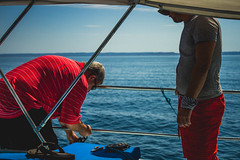 Perception (leocasanorte) Tags: perception landscape travel sea sailing sunset gulf california sailboat canon sail mexico la paz espiritu santo island lighthouse documentary art cinematic casanorte