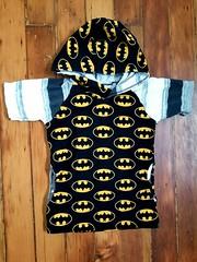 Batman shirt for Gray (quinn.anya) Tags: batman shirt sewing hoodie