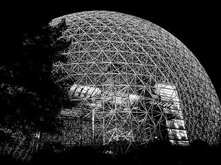 Biosphere at Night