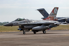 J-879 F-16 Royal Netherlands Air Force 75 years special (COCOAJAMESON) Tags: fairford riat airshow