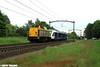 Shunter v100 203 102 met Arriva lint 32 in Rijen (Best Trains) Tags: shunterv100 arrivalint nederland noordbrabant rijen vijfeiken bewerktefotos shunter 203 br203 102 lint lint41 32 blerick waalhaven