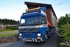 (Zak355) Tags: blazefield caravans haulage transport lorry truck volvo rothesay isleofbute bute scotland scottish rayliabletransport escortvehicle y262cdc abnormal load