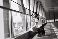 ILFORD DELTA 400 (15) (Waynegraphy) Tags: waynegraphy waynelee nikon nikonf3 50mmf18d 50mm ilford ilforddelta film 35mm malaysia girl ladies blackandwhite