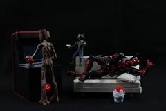 IMG_5884 (faelon312) Tags: shfiguarts iron man groot mechagodzilla deadpool