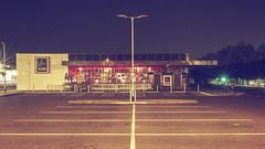 ... the local shop ... [explored 06.07.18 - thank you! ] (jane64pics) Tags: 52weeksof2018 week27 whereilive 5minuteswalk janefriel janefriel2018 aldi supermarket night nightshoot nightphotography bray beautyintheordinary colourfx nik