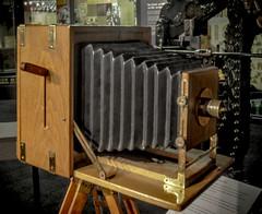Old Camera (Clive Varley) Tags: vintagecameras blackburnmuseum february2018 lightroom44