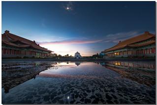 Morning after the rain, National Chiang Kai-shek Memorial Hall, Taipei, Taiwan