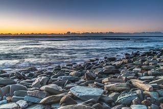 Rocky Shore Seascape