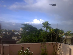 due course of rain: cloudy freedom (JAYITA_ MALLICK) Tags: rooftop kolkata india