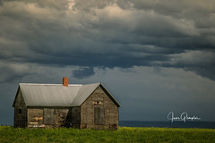 Camas Prairie Homestead (JGemplerPhotography) Tags: building house camasprairie homestead cloudsstormssunsetssunrises clouds
