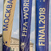 FIFA World Cup Final 2018 Moscow flags