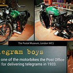 BSA 250 CC motorcycle; Telegram delivery. thumbnail