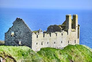Dunnottar Castle Ruins 15th Century Scottish Highlands 2018