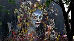 Berlin 2018.06.11. Mural 9.1 - Artists HERAKUT, Germany - Postdam 2016 (Rainer Pidun) Tags: mural streetart urbanart publicart berlin