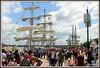 La fête du vin à BORDEAUX 2018 (Les photos de LN) Tags: quais bordeaux portdelalune garonne fleuve gironde estuaire voiles mâts lebelem visiteurs fêteduvin2018 promeneurs touristes