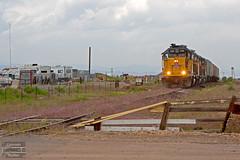 Heading for Aggregate (ColoradoRailfan) Tags: unionpacific westlocal gp402 rockyflatsindustriallead rockylocal