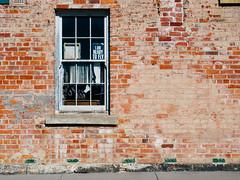 Talbot 015 (Peter.Bartlett) Tags: vsco victoria urban window m43 australia brick facade olympuspenf sign wall kodakportra160emulation microfourthirds talbot au