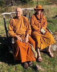 with Ajahn Viradhammo