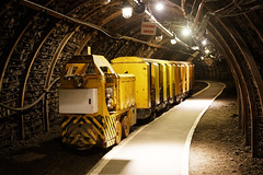 The coal mine's train (Guillaume DELEBARRE) Tags: mine coalmine train tunnel highiso 5dmarkiv tamron2470f28 5d4 canon galerie gallery