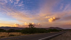 Anza-Borrego Desert Sunset Timelapse Near The Banner Grade (slworking2) Tags: