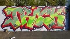 Tabloid: 'Trock'... (colourourcity) Tags: streetart streetarnow graffiti melbourne streetartmelbourne streetartaustralia awesome colourourcity nofilters burncity original hobby bored walking tabloid trock tee troc datm