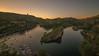 Verano. (Amparo Hervella) Tags: embalsedebolarque guadalajara españa spain paisaje cielo agua barco naturaleza atardecer árbol largaexposición d7000 nikon nikond7000