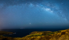 Milky Way from the Hanauma Bay Trail (lisam1381) Tags: milkyway hanaumabaytrail