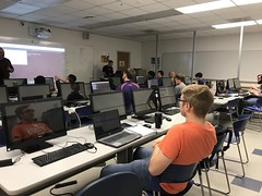 Cyber Patriot Camp June 2018 (S C C) Tags: cyber cyberpatriot scc spartanburgcommunitycollege spartanburg stem cyberpatrioths18