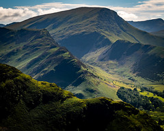 Catbell View [Explored 24/06/18] (Tony Emery Fotos) Tags: catbells lake district keswick borrowdale great gable telephoto long lens derwent water