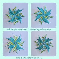 Driehaekjes Dengesen (José Meeusen) 1 (AnkaAlex) Tags: paperfolding papercraft paper paperfoldingart star origamistar origamidecoration josémeeusen modulorigami modul