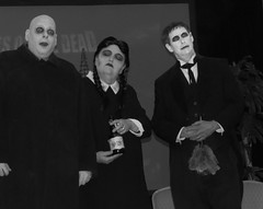 What happened to the Addams family @ #DaysOfTheDead? (kennethkonica) Tags: thatdamntattoocontest daysofthedead tattoo tatts skin people persons faces indianapolis indiana indy canonpowershot contest hoosiers usa america midwest color random moods global fun lurch eyes blackwhite familyvalues pigtails theaddamsfamily unclefester macabre