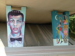 Neerpede pylon art by STEVE LOCATELLI & HELL'O (Linda DV) Tags: lindadevolder lumix geotagged belgium brussels 2018 streetart art artderue graffiti neerpede ribbet panasonic colour colours urbanart urbanculture city europe capitalcity mural fresco pylons ringway highway mariusrenard anderlecht streetarthalloffame