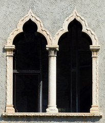 doppeltes Glück- double luck (Anke knipst) Tags: italien italy verona fenster window sprichwort quote chinesisch chinese