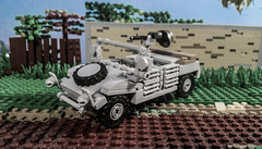 Kubelwagen (SSG Album) Tags: kubelwagen lego german ww2 mg34 brickarms stalhelm type82