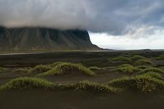 Stokksnes (hph46) Tags: island stokksnes vestrahorn austurland iceland beach sand black mountain clouds canonef2470mm14lisusm sony alpha6500