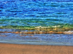 Winter waves II (elphweb) Tags: sea seaside ocean water hdr highdynamicrange nsw australia beach sand waves