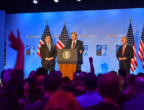 Secretary Pompeo Participates in Press Conference With President Trump