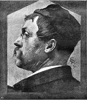 Peterssen, Eilif (1852-1928) - 1891 Self-Portrait