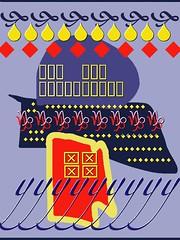 Font Spree (Joan Scher) Tags: corelpainter abstractart