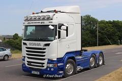 Scania R580 V8 (181C7290). (Fred Dean Jnr) Tags: scania r580 v8 181c7290 midleton cork july2018 articulatedtruck