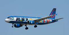 A320 | OO-SND | BRU | 20180714 (Wally.H) Tags: airbus a320 oosnd brusselsairlines aerosmurf thesmurfs desmurfen bru ebbr brussels zaventem airport