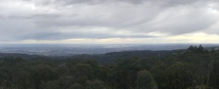 mt lofty summit panorama