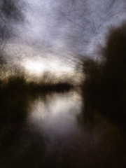 night at our lake (tseehaus) Tags: lake night mood icm intentionalcameramovement longtimeexposure landscape abstract abstractlandscapefotography